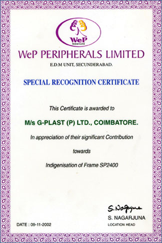 WeP Periperals Limited